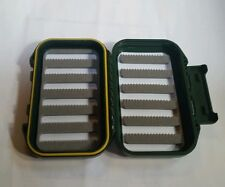 Waterproof fly box green