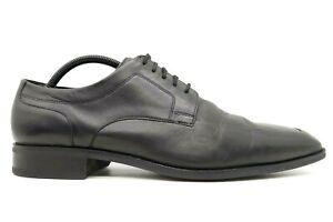 Cole Haan Air Black Leather Lace Up Dress Oxfords Shoes Men's 12 M