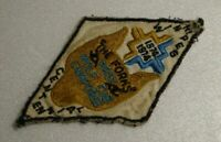 Vintage scouts badge, The Forks, First Wolf Cub Camporee Centennial.