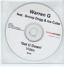 (GS246) Warren G ft Snoop Dogg & Ice Cube, Get U Down - DJ ECD