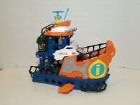 Fisher Price Imaginext Deep Sea Mission Command Ship Boat