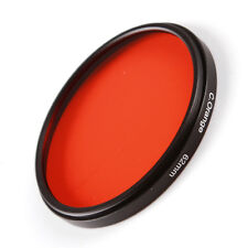 Camera 58mm Full Orange COLOR Filter Lens Sunset Effect M58 For Canon Nikon Sony