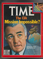 Time Magazine CIA Stansfield Turner Fashion February 6 1978