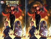 STRANGE ACADEMY #9 CLARKE EXCLUSIVE VARIANT SET NM SCARLET WITCH DOCTOR MAGIK