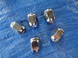 Standard wheel nut 90942-01101A set of 5 to suit Landcruiser 100 200 78 and 79#
