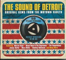 The Sound Of Detroit - Original Gems From The Motown Vaults 2CD 2012 NEW/SEALED