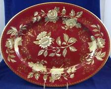 "Wedgwood TONQUIN RUBY 17"" Oval Serving Platter GREAT CONDITION"