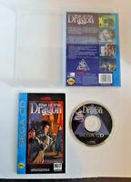 Rise of the Dragon complete good shape Sega CD