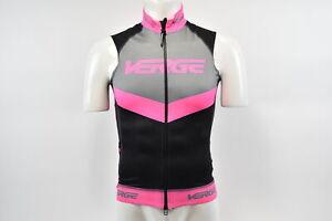 Medium Women's Verge Triumph Light Flight Cycling Vest Black/Pink/Grey CLOSEOUT