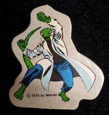 Vintage Amsco Marvel World Adventure Playset The Lizard 1975