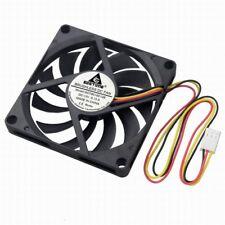 12V 3P 8cm 80mm 80x80x10mm DC Brushless Cooling Fan Heatsink For PC Computer
