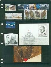 Belgium 1999 issues fairly complete (#1714-35/#B1146-48) VFMNH CV $37.80