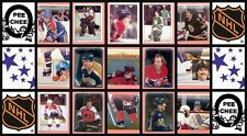 1983 O-Pee-Chee NHL Hockey Sticker Complete Set of 330 Pelle Lindbergh Rookie