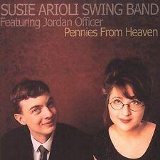 Pennies from Heaven by Susie Arioli Swing Band Western Country CD Jordan Officer