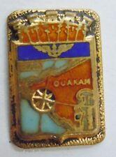 Insigne boutonnière AERONAVALE MARINE BAN OUAKAM AFRIQUE ORIGINAL
