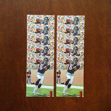 Shannon Sharpe Denver Broncos Lot of 10 unsigned Goal Line Art Cards