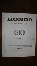 HONDA CB100 PARTS CATALOG MANUAL