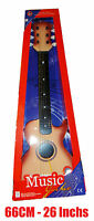 """Kids Childrens GUITAR 26"""" 1/4 Acoustic 6 String Musical Toy Instrument Junior"""