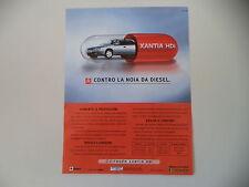 advertising Pubblicità 1999 CITROEN XANTIA HDI