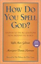 How Do You Spell God?, Marc Gellman, 0688130410, Book, Good