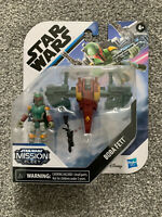 Star Wars Mission Fleet Boba Fett Capture In The Clouds Figure