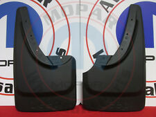 JEEP GRAND CHEROKEE Black Rear Deluxe Molded Splash Guards NEW OEM MOPAR