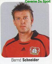 297 BERND SCHNEIDER GERMANY BAYER 04 LEVERKUSEN STICKER FUSSBALL 2007 PANINI
