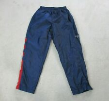 VINTAGE Adidas New England Patriots Windbreaker Pants Adult Large Blue Football