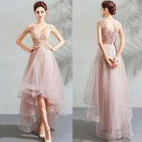 Noble Evening Formal Party Ball Gown Prom Bridesmaid Beaded Long Dress TSJY9081