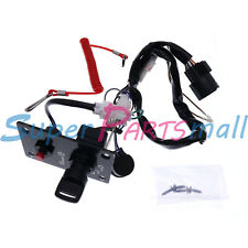 New 37100-96J24 Single Ignition Key Switch Panel For Suzuki Outboard Motor