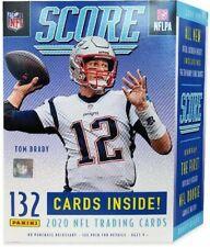 NFL 2020 Score Football Trading Card BLASTER Box [11 Packs, 1 Memorabilia Card!]