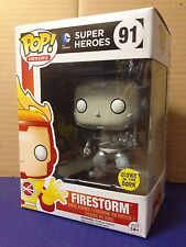 FUNKO POP! White Lantern Firestorm Glow In The Dark (GITD) #91 Exc Vinyl Figure