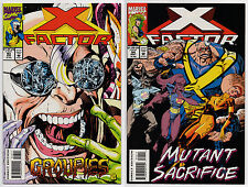 X-FACTOR #93 #94 - 1993 - CGC Ready! - 9.6 OR BETTER