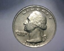 """1970 D WASHINGTON QUARTER,  STRUCK ON A """"DIME STOCK""""  >4.3 GRAMS< US ERROR COIN"""