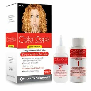 Color Oops Hair Color Remover Extra Strength New NIB