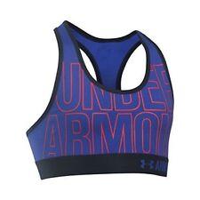 Under Armour filles Heatgear graphique soutien-gorge violet noir / taille Rouge