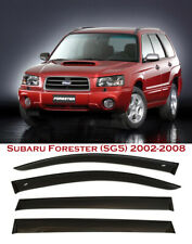 For Subaru Forester SG5 2002-2008 Window Smoke Visor Rain Sun Guard Deflectors