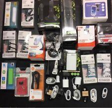 100 Parts Mobile Phone Smartphone Accessories Charger Headphones Powerbank Bags Joblot