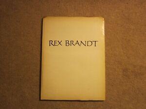 Rex Brandt Signed Copy 1972 1500 Copies Corona del Mar