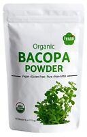 Organic Brahmi Powder (Bacopa Monnieri) 4,8 oz, #Free3DayDomesticShipping#
