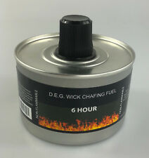 More details for pack of 2 x chafing dish liquid fuel re-usable high quality - 6 hour burn