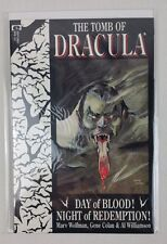 Epic Comics The Tomb of Dracula Book 1 DAY OF BLOOD!