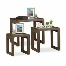 Mesas marrones cuadrados para el hogar