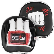 DEFY Challenge Mini Focus Mitts Boxing Pads MMA Muay Thai Hook and Jab PAIR