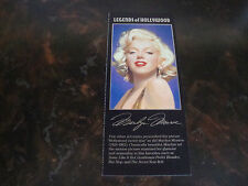 Marilyn Monroe---Legends Of Hollywood---Stamp Sheet Photo---3x7---1995---Mint