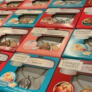 Yankee Candle Charming Scents Base Starter Kit 30 Days Car Fragrance Set U Pick