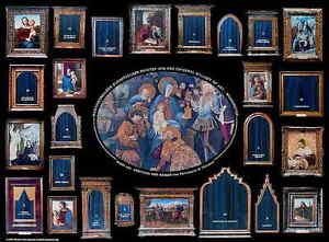 Kreuter - Traditional German Paper Advent Calendar - National Gallery of Art