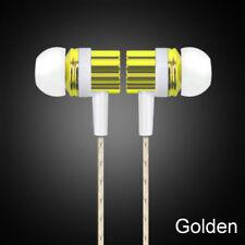 Common 3.5mm Mic Wired Headset In-ear Stereo Earbud Headphone Earphone Cheap Blue