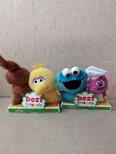 2 Gund Sesame Street Best Friends Set Big Bird Cookie Monster