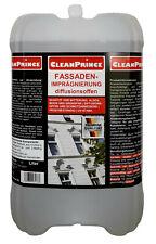 10 Liter Fassadenimprägnierung Klinker Sandstein Kamin Außenputz Schutz Flecken